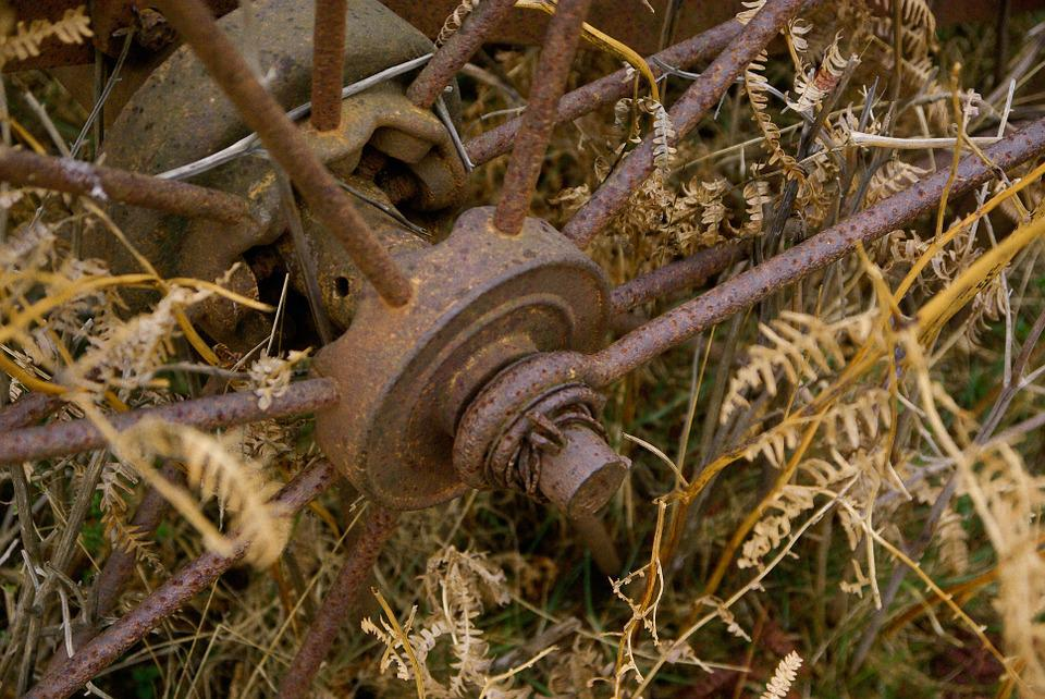 Wheel, Ferrraille, Rust