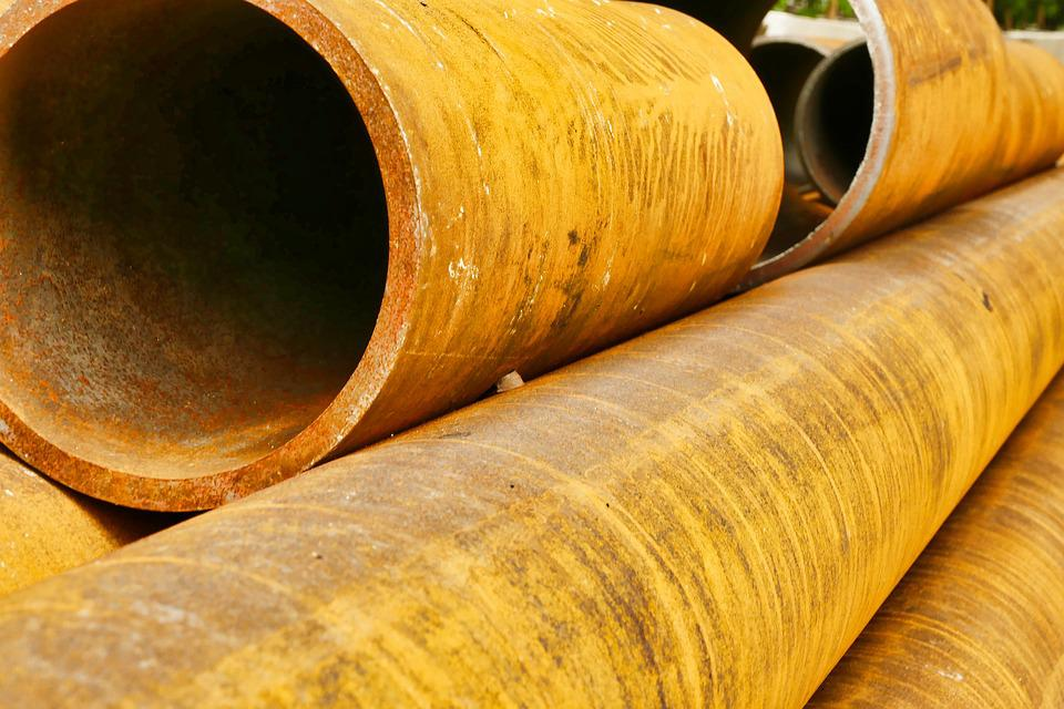 Pipe, Metal, Tube, Steel, Industry, Rust, Iron