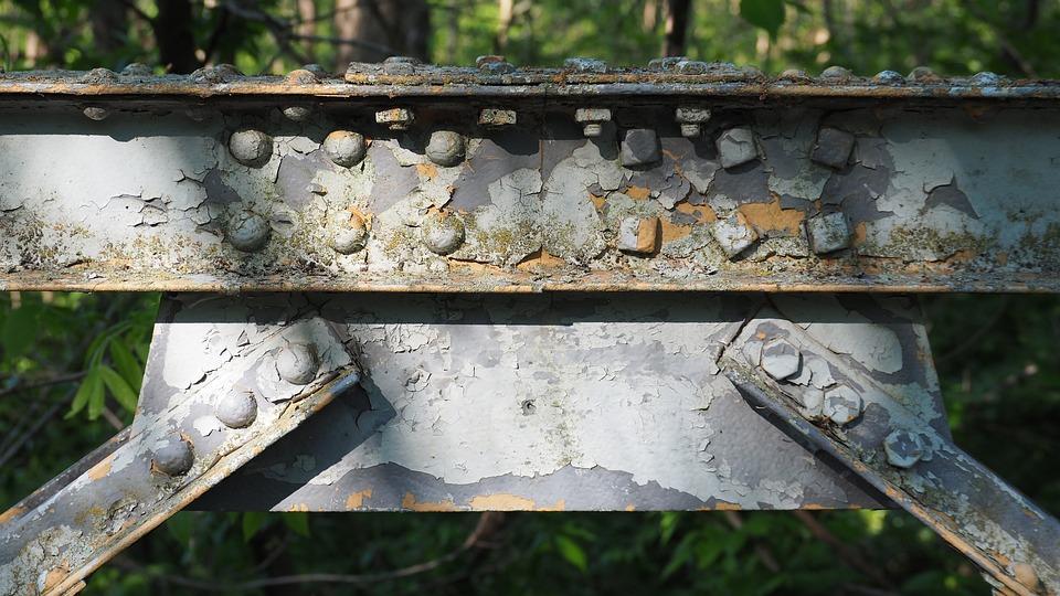 Rusted Bridge, Rusted, Bridge, Rust, Steel, Old, Iron