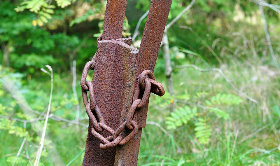 Rust, Steel, Chain
