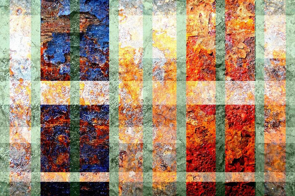Texture, Pattern, Rust, Stripe, Aged