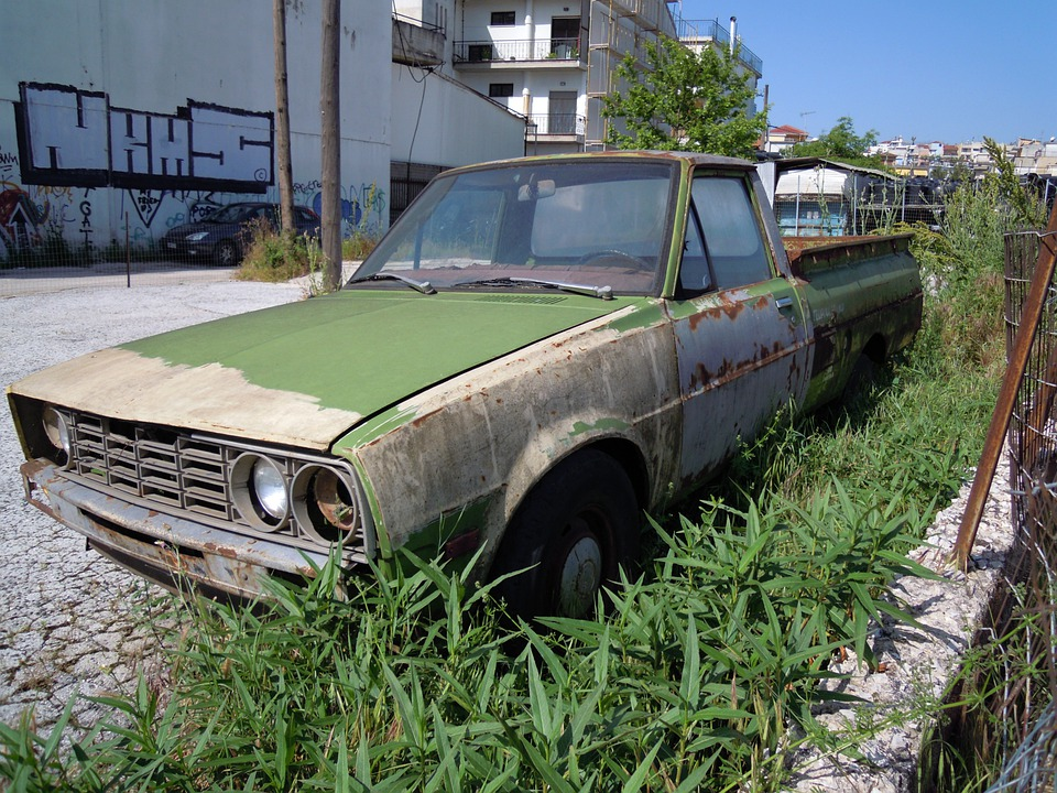 Pickup Truck, Car, Oldtimer, Abandoned, Old, Rusted
