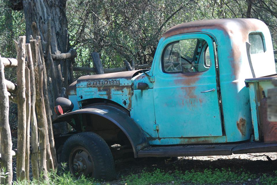 Old Truck, Rust, Truck, Old, Vintage, Rusted, Junk