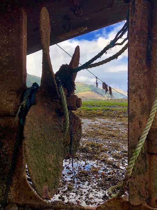 Propeller, Rusted, Metal, Rust, Iron, Old, Screw