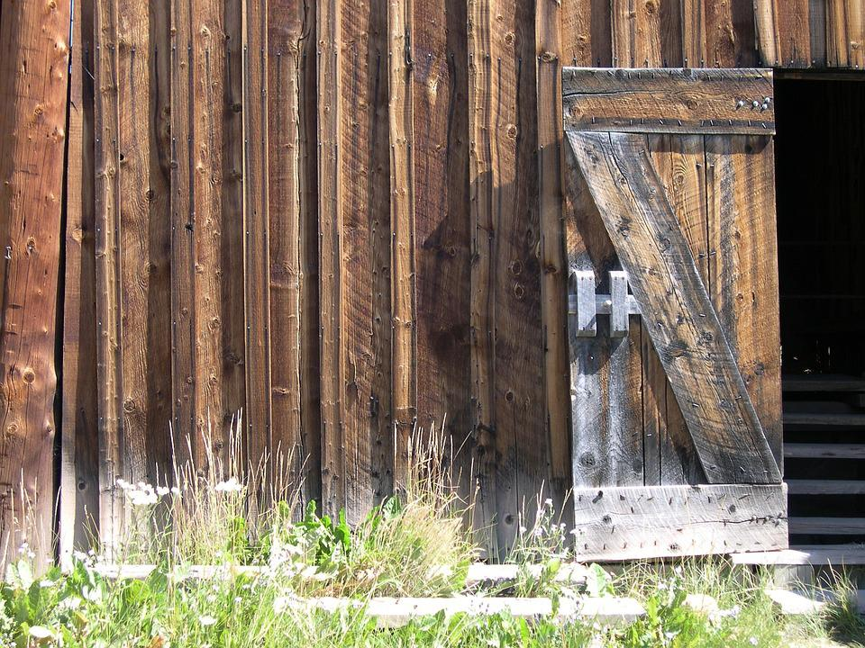Rustic, Wood, Fairplay, South, Park, Colorado