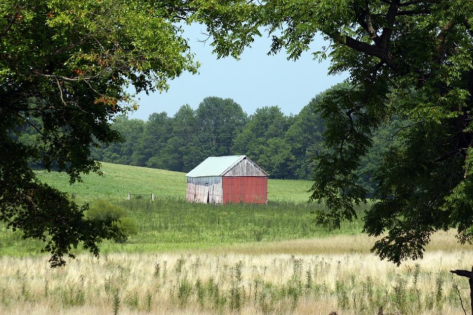 Barn, Landscape, Farm, Rural, Outdoor, Scenic, Rustic