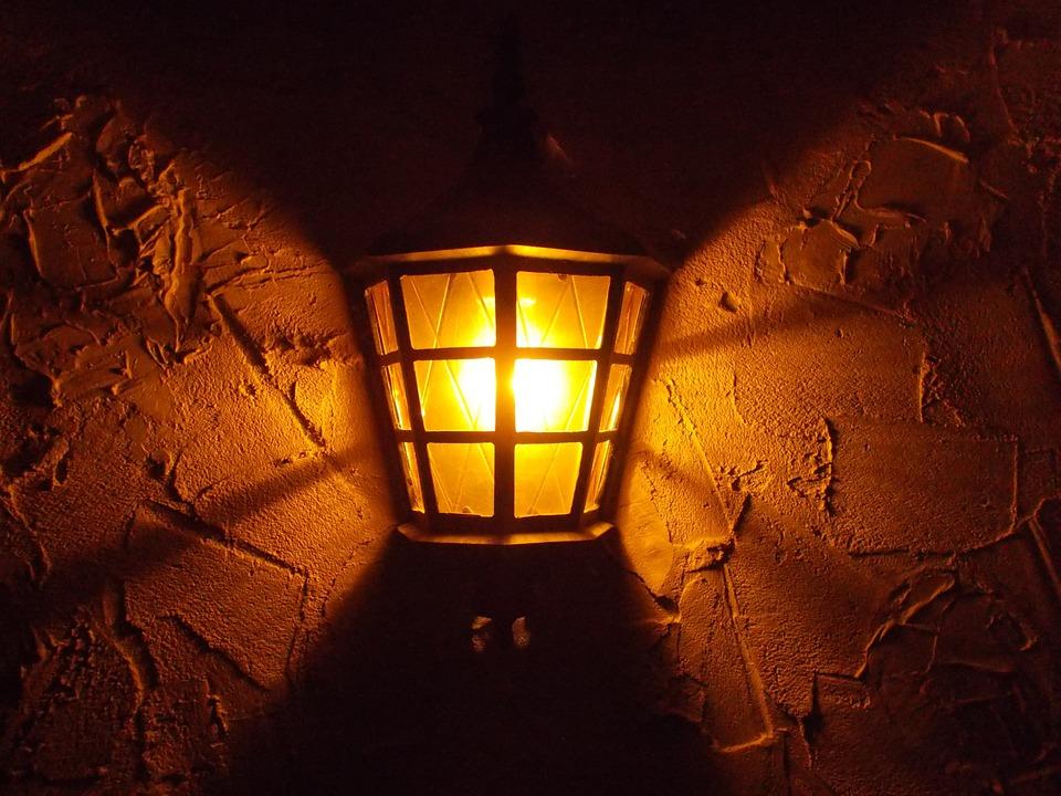 Old, Light, Rustic France, Medieval, Facade, Night