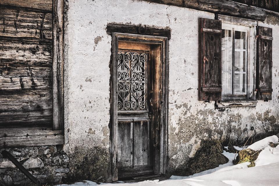 House, Old, Lapsed, Masonry, Rustic, Rural, Hut, Barn
