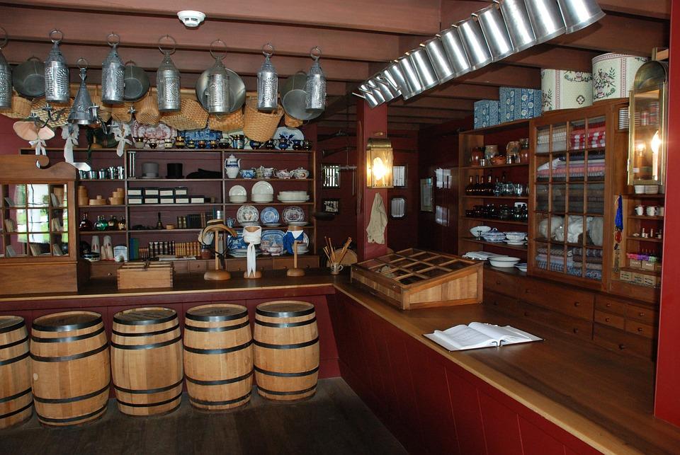 Country Store, Old, Rustic, Rural, Wood, Vintage
