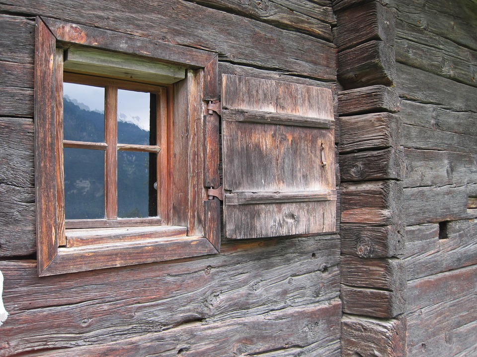 Window, Wooden Windows, Timber Façade, Shutter, Rustic