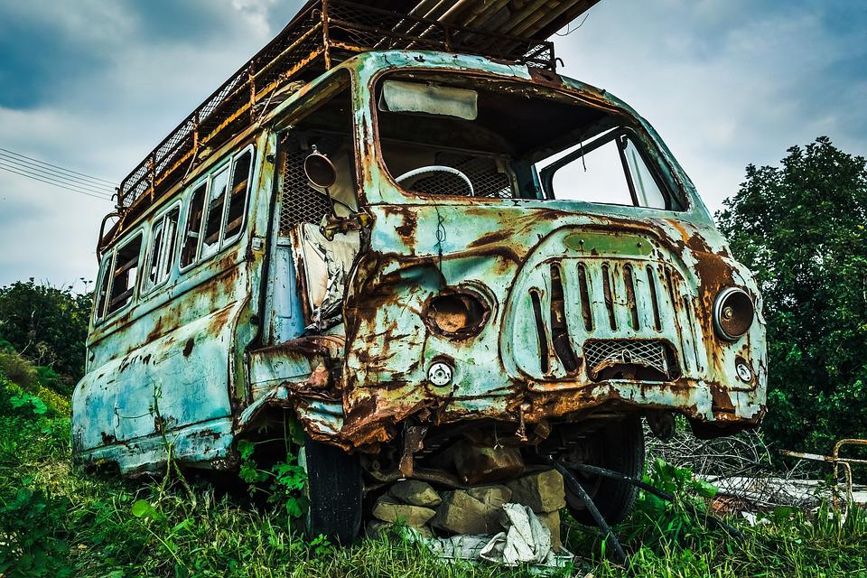 Free photo Rusty Broken Abandoned Car Wreck Old Vehicle - Max Pixel