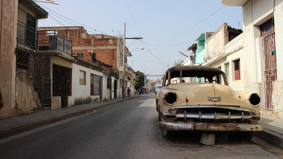 Rusty Car, Broken Car, Abandoned Car, Automobile, Aged