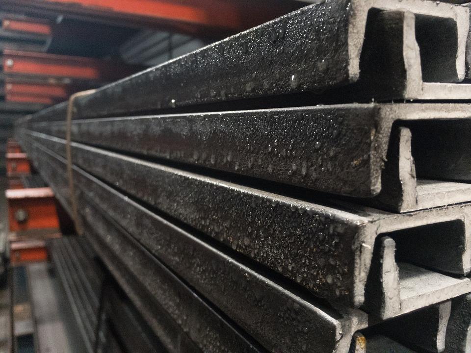 Steel, Channel, Rusty, Metal, Warehouse, Iron