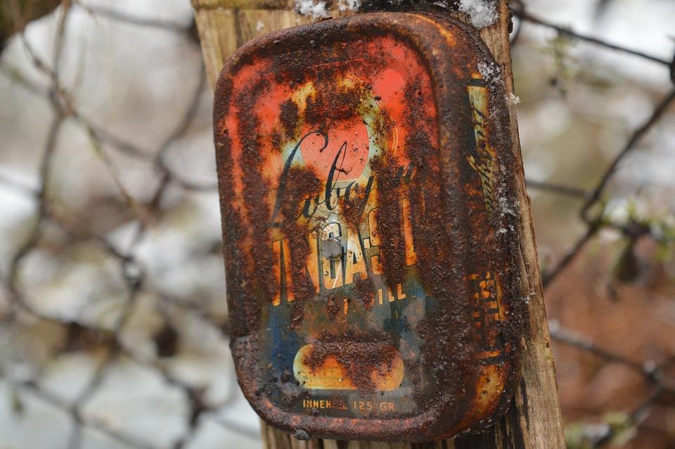 Rusty, Jar, Old, Antique