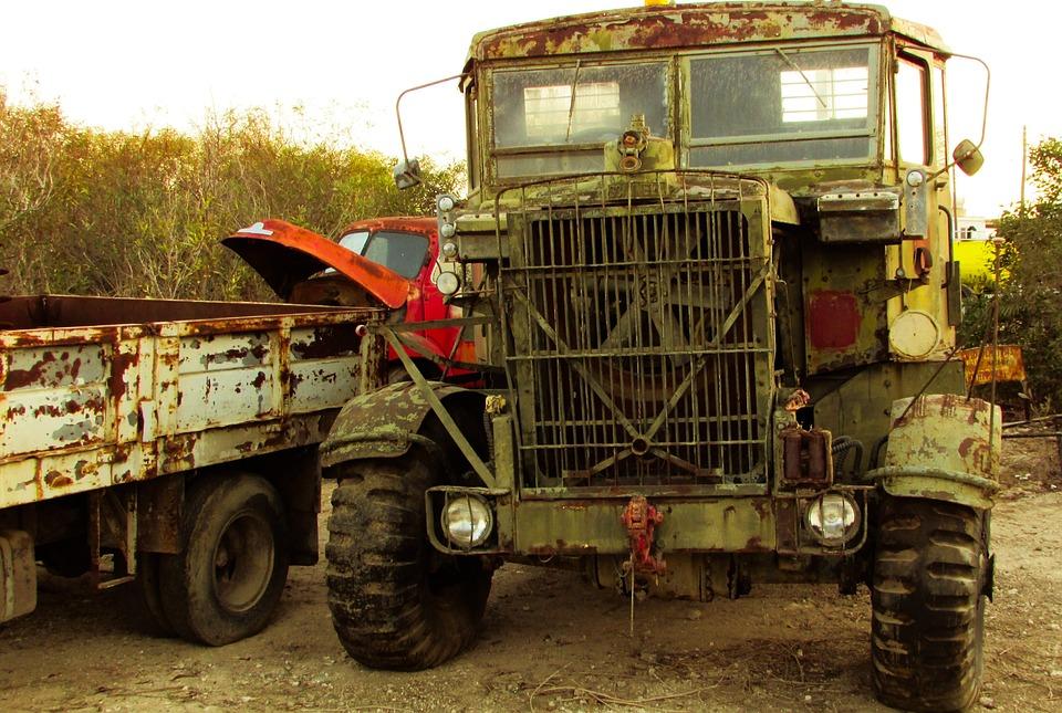 Free photo Rusty Truck Damaged Vehicle Antique Old Abandoned - Max Pixel