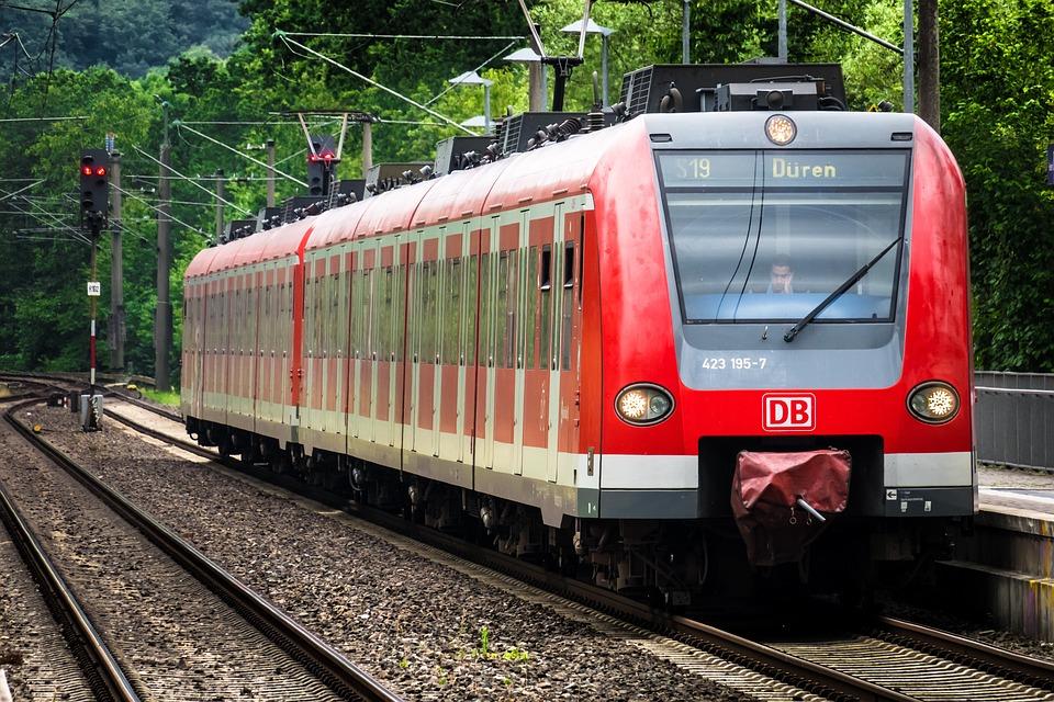 Train, Railway, S Bahn, Rails, Locomotive