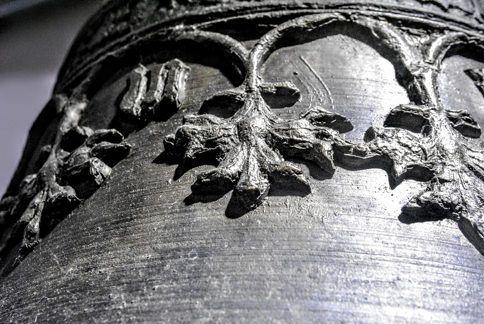 Bell, S W, Close Up, View Details, Church Bell
