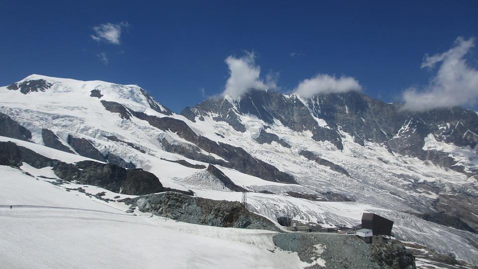 Saas-fee, Valais, Mountains, Switzerland