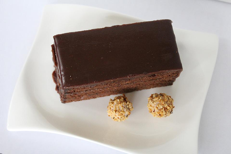 Sacher Cake, Sweet Dish, Cake, Chocolate Cake