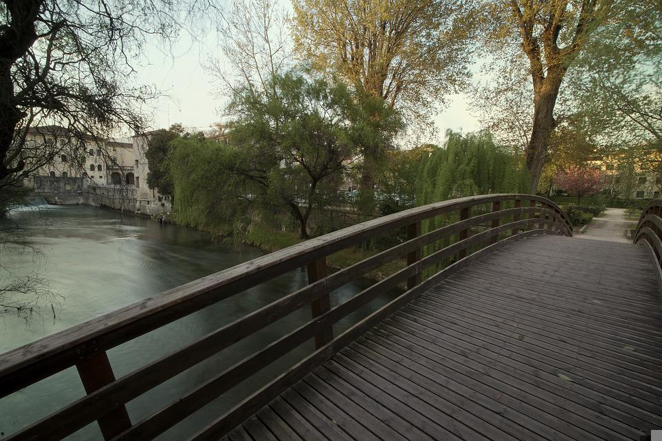 Sacile, Italy, Country, Water, River, City On The Water