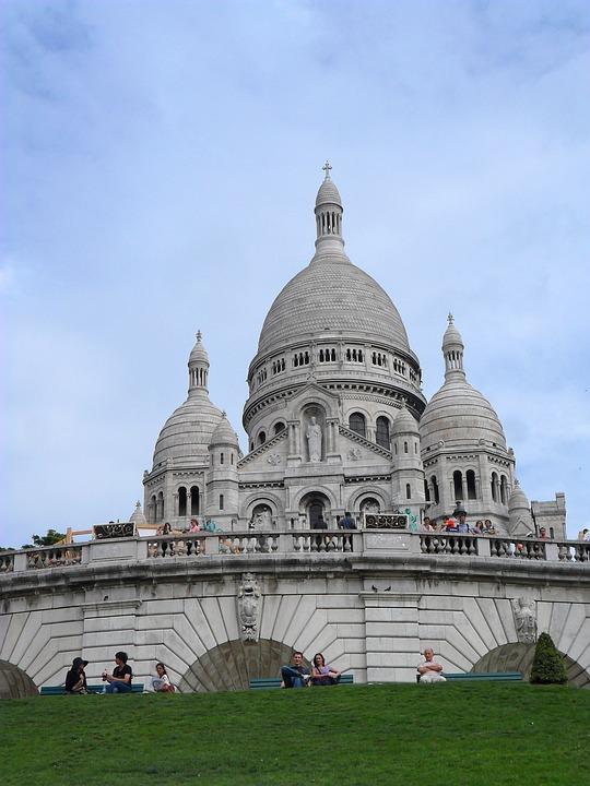 Sacre Coeur, France, Paris, Temple, The Basilica