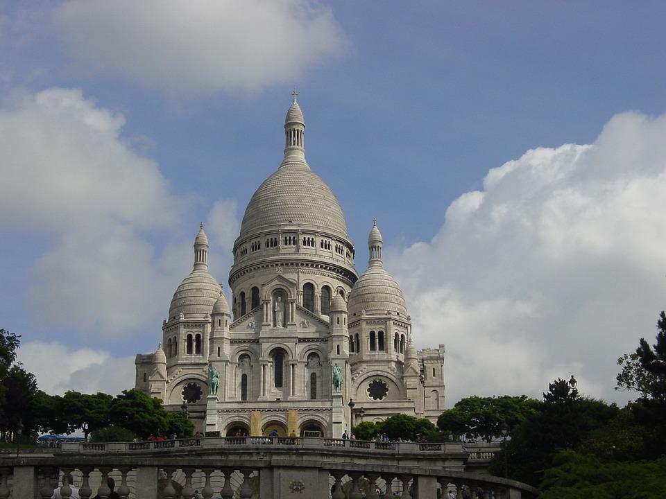 Free Photo Sacre Sacred Heart Church Paris France Max Pixel