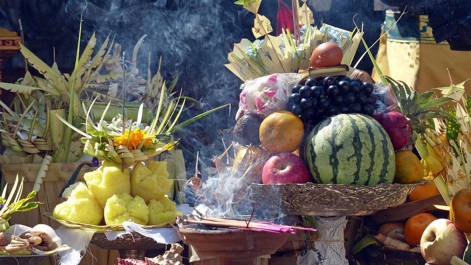 Fruit, Offering, God, Bali, Sacred, Indonesia, Temple