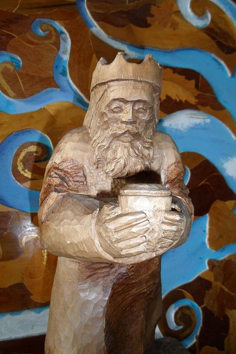 Sculpture, Wood, Sacred Image