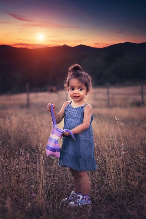 Girl, Portrait, Outdoors, Fashion, Bag, Expression, Sad