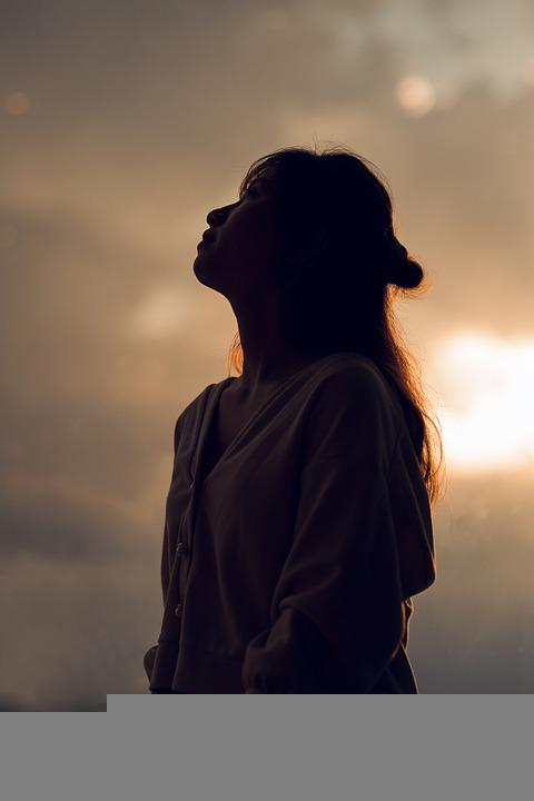 Girl, Lonely, Sunset, Sad, Loneliness, Sadness, Woman