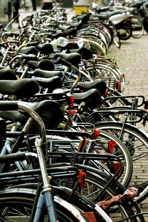 Amsterdam, Bicicletes, Saddle