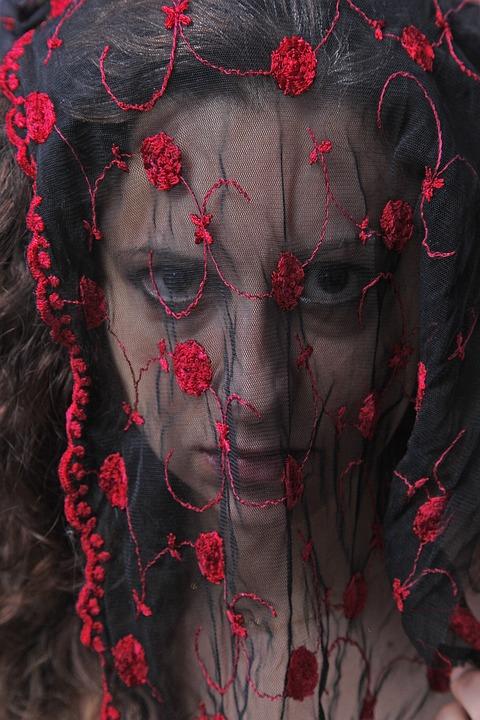 Portrait, Spanish Woman, Sadness