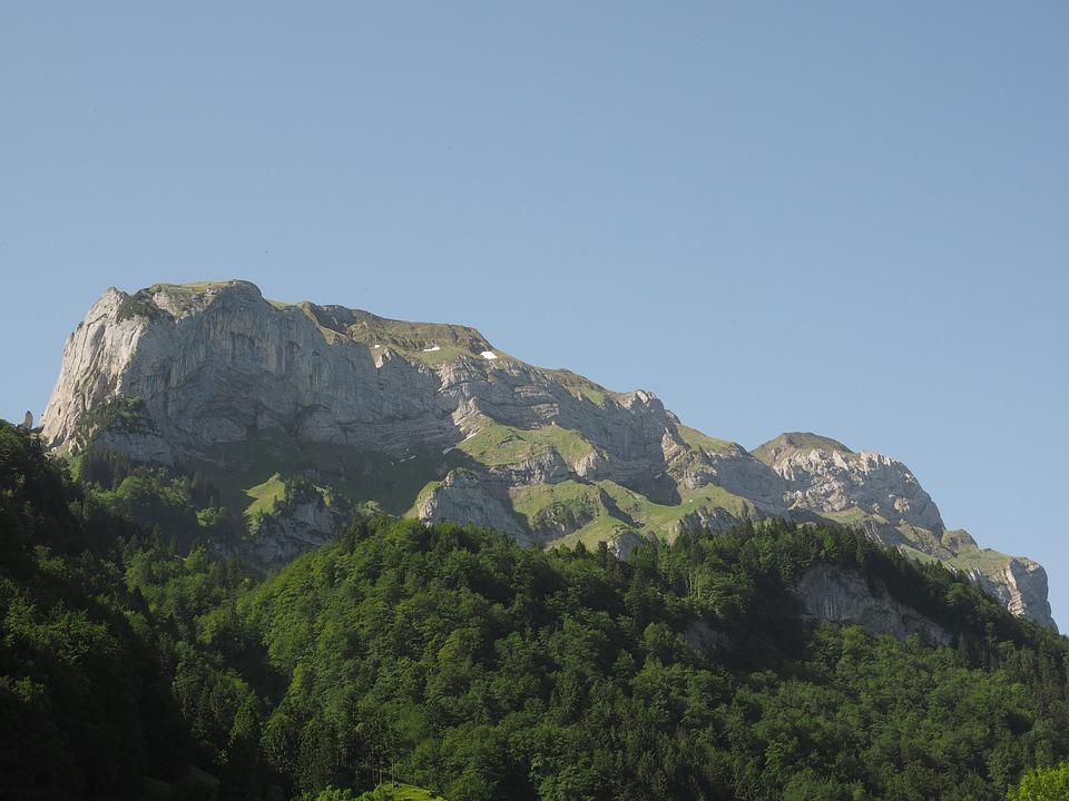 Mountain, Mountains, Ebenalp, Säntis