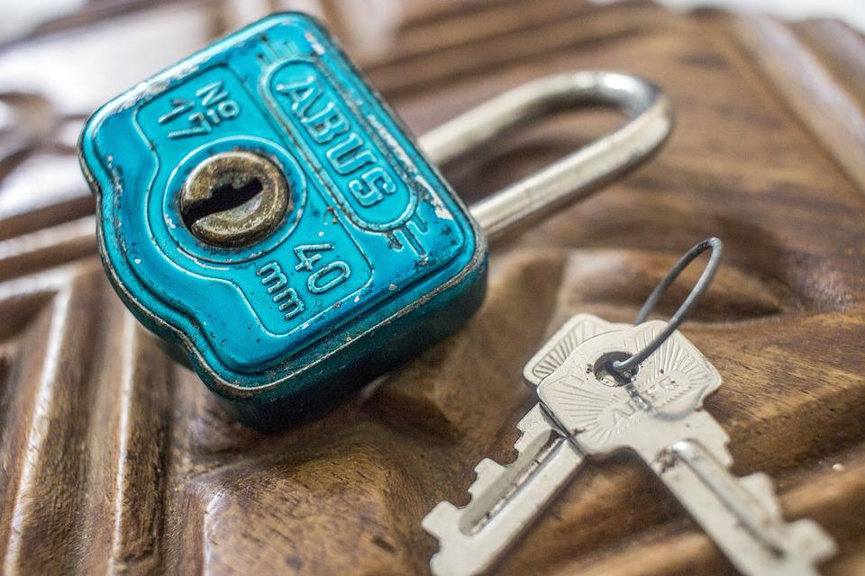 Lock, Key, Vintage, Creative, Security, Safe, Door