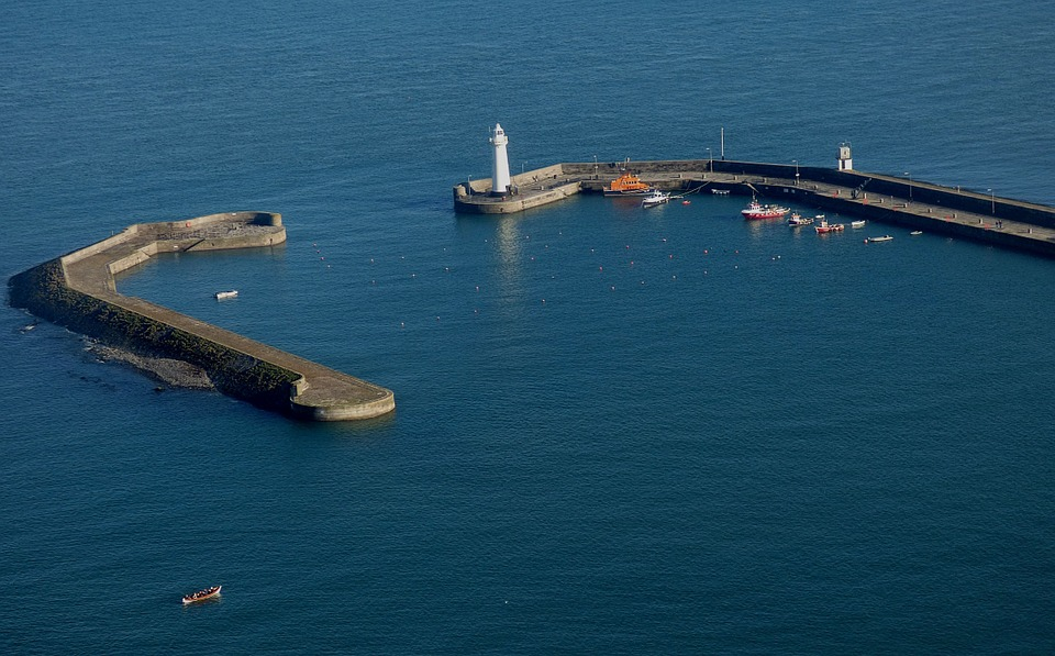 Harbour, Lighthouse, Sea, Coast, Beacon, Safety, Boat