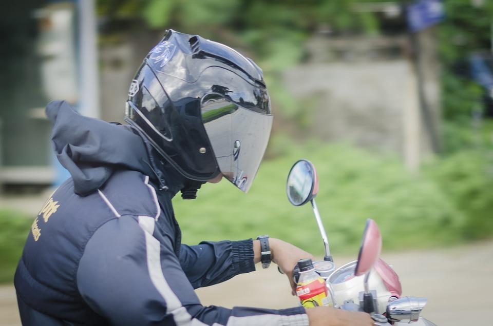 Helmet, Safety, Hat, Man, Motorbike, Driver