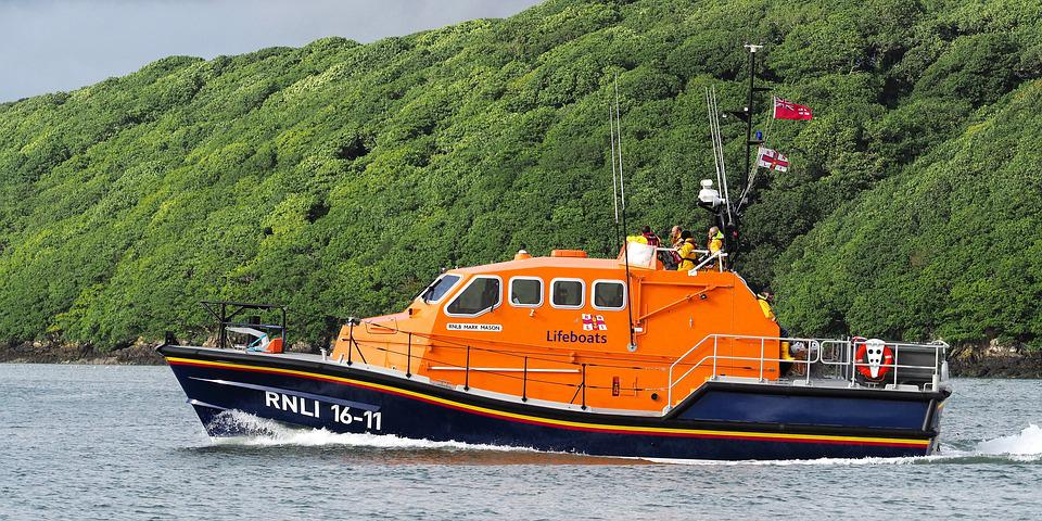 Lifeboat, Rescue, Emergency, Safety, Rnli, Rnlb