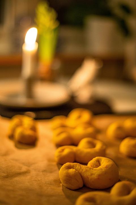 Saffron Bun, Lucia, Lussekatter, Coffee Break, Pastries