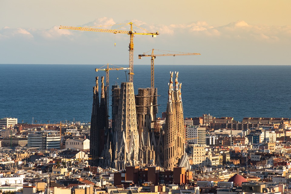 Barcelona, Sagrada Familia, Spain, Places Of Interest