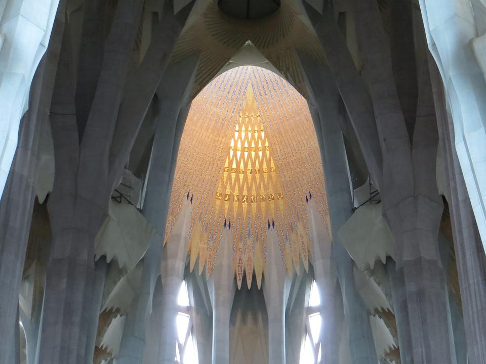Church, Sagrada Família, Spiritual, Barcelona