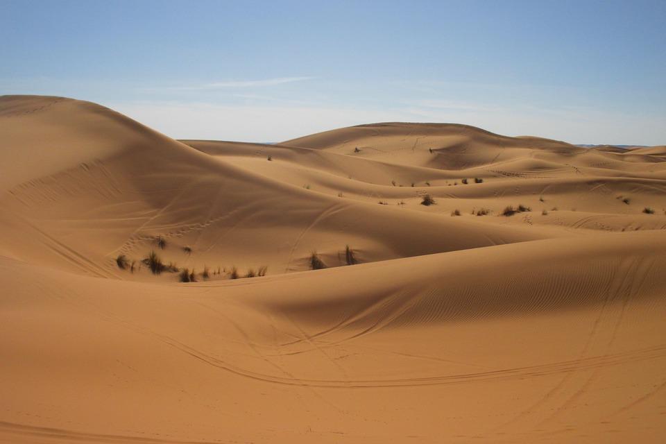 Desert, Morocco, Sahara, Sand