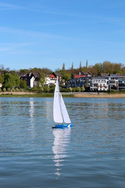 Sailing Boat, Lake, Water, Sail, Boot, Water Sports