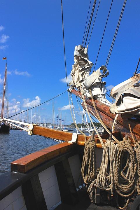 Sailing Vessel, Historically, Sail, Ship
