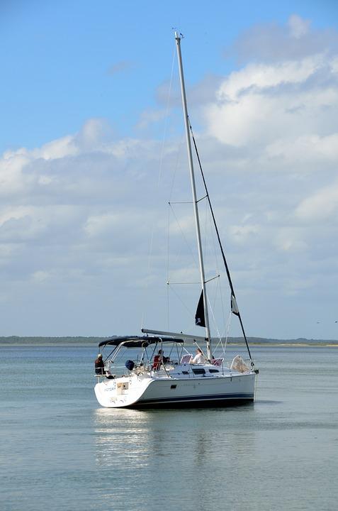 Sailboat, Sailing, River, Boat, Sea, Travel, Sail