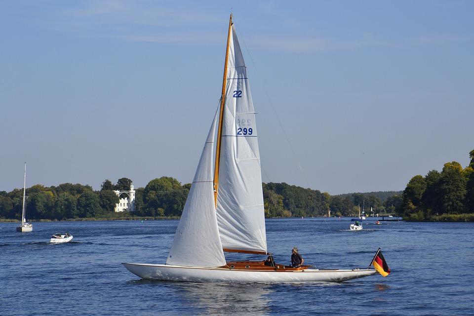 Waters, Sailing Boat, Ship, Sail, Boot, Summer, Yacht