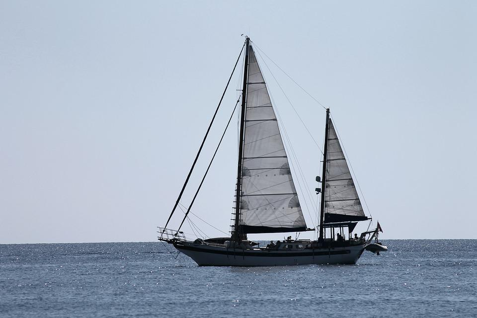 Sailing Vessel, Sail, Side, Ship, Mediterranean, Sea