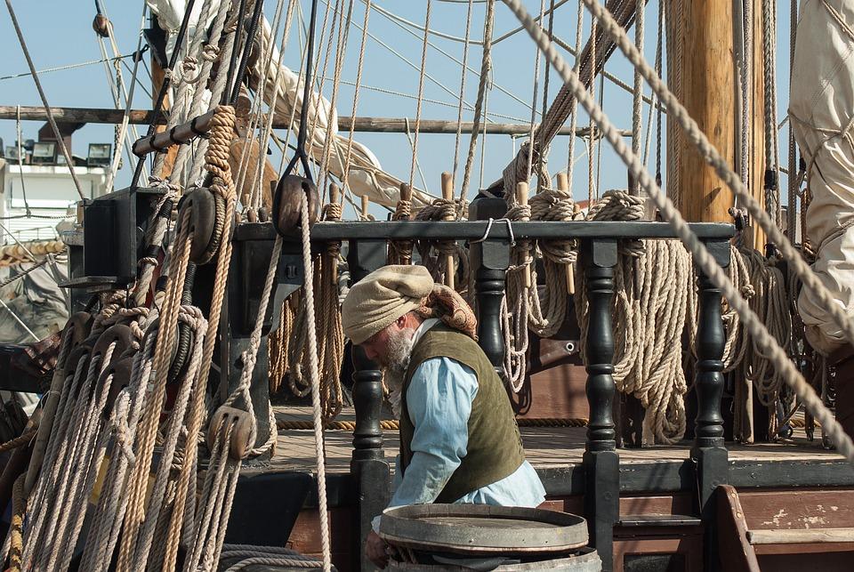 Port, Sailboat, Boat, Marin, Ropes, Mats