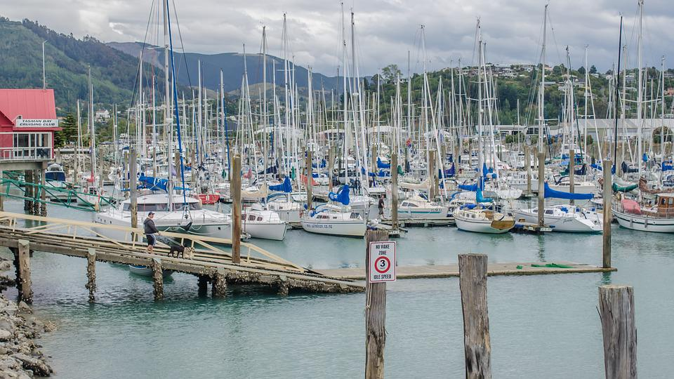 Port, Sailboats, Boats, Boat, Sailboat, Landscape, Sea