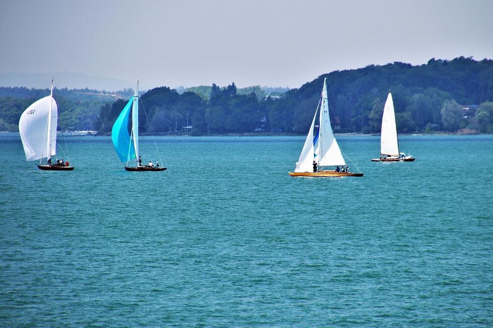 Regatta, Lake, Water, Sailboat, Wind, Relaxation