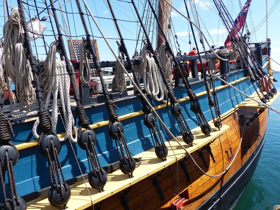 Ship, Rigging, Sailing Ship, Sailboat, Rig, Sailing
